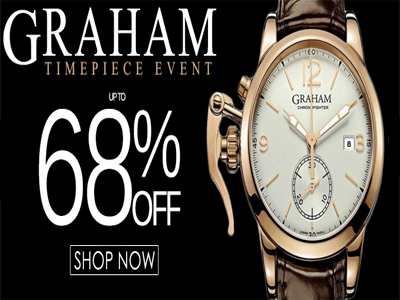 GRAHAM Watches Up To 68% Off