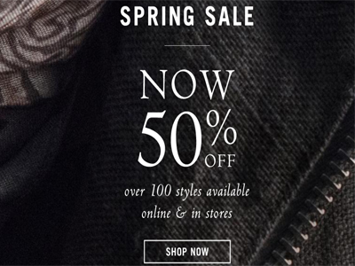 Spring Sale Collection 50% Off