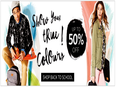 Up To 50% Off Back To School Discount