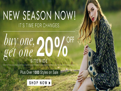 20% Off Sitewide Discount