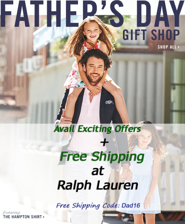 For Dad's Day 2016 - The Most Surprising Gift List is at Ralph Lauren