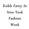 Elie Tahari entering Kohl's and Kohl's entering NY Fashion Week- Guess What the Brand's after??