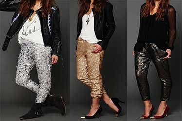 Sparkles Sequins Clothing