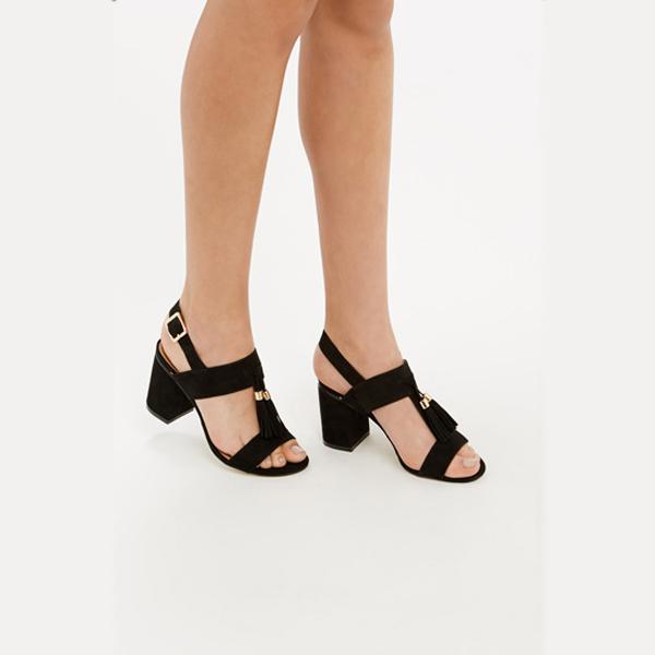 oasis high heel slingbacks sandals