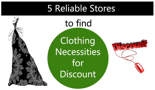 5 Reliable Online Stores to find Clothing Necessities for Discounts