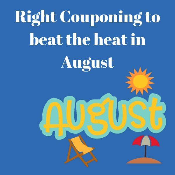 How Coupons Can Help You To Beat Your Heat In August
