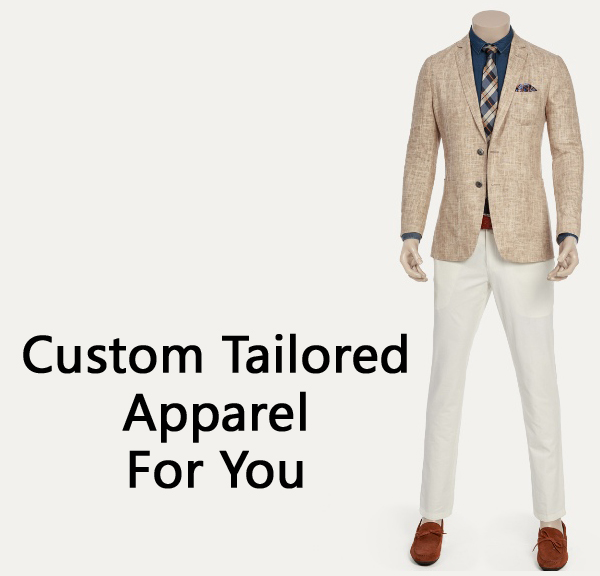 The Most Recommended Place for Custom Tailored Suits and More
