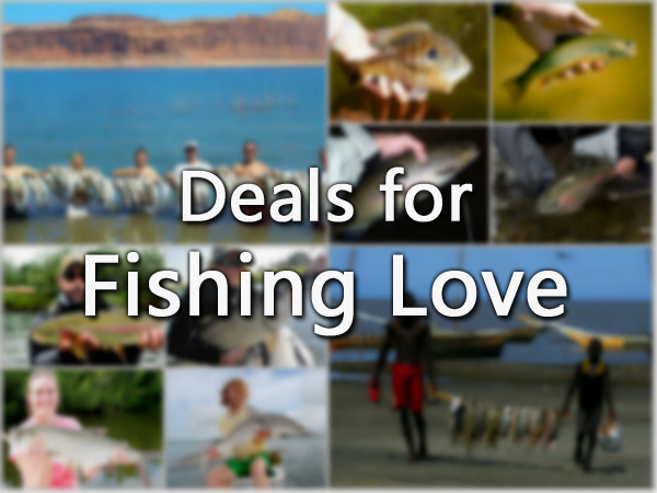 If You Are Into Fishing- We Have Number of Deals That Salt Water Is Offering