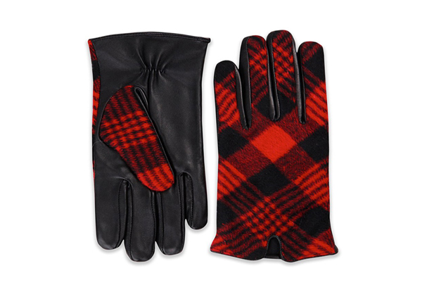 Red Checkered Gloves