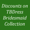 Up to 75% off on TBDRESS Stunning Bridesmaid Collection