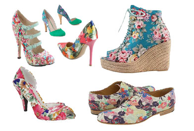 Floral Shoes For Girls