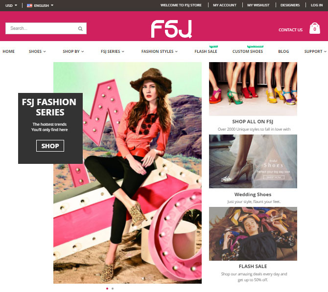 FSJ Shoes Review Store