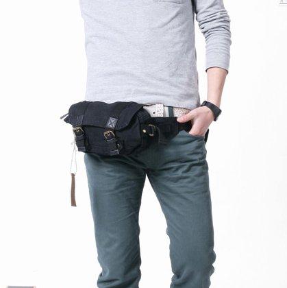 Leather Waist Bag Waist Belt Bag @ClothingRic.Com