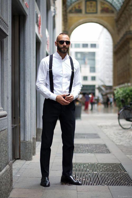 Men Fashion Suspenders