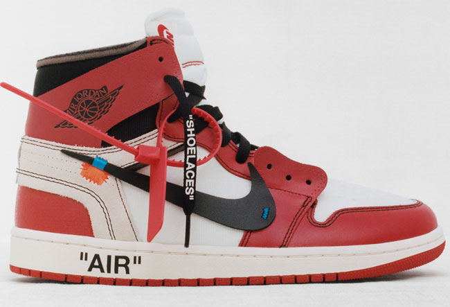 Off White Nike The-Ten Shoe Collab