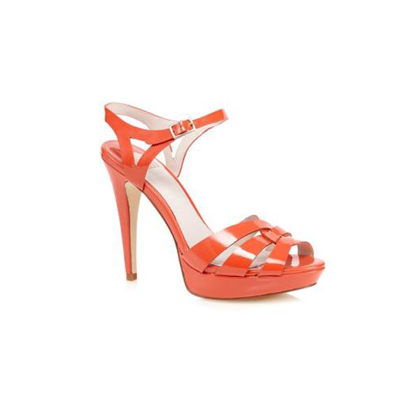 lipsy platform heeled sandals