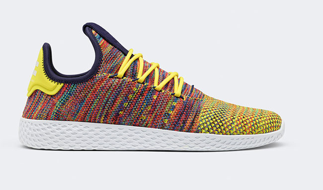 Pharrell Williams Colorful Tennis Hu Releases