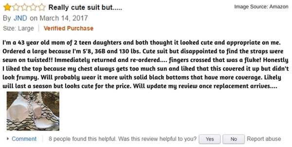 Amazon Customer JND Review