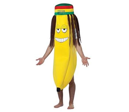 Rasta Banana Hilarious Costume