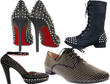 Studded Shoes For Girls