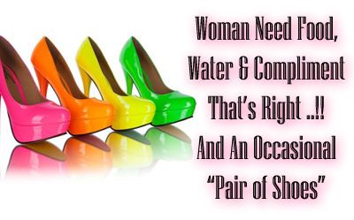 Women Shoes Quote