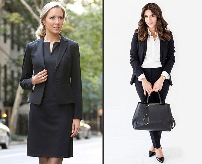 Women Wear Interview Dress