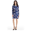 DVF Jones Silk Jersey Shirt Dress