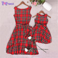 Girl-Plaid-Knot-Skater-Dress-Clothingric.jpg
