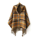 Khaki-Plaid-Button-Detail-Fringe-Hem-Cape.jpg