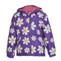 Purple Flower Raincoat
