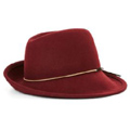 Women's Asymmetrical Fedora Hat