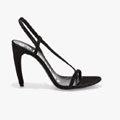 Asymmetrical Heeled Sandal