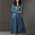 autumn-and-winter-linen-dress-clothingric.jpg