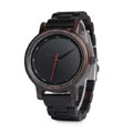 Blackout Wooden Watch