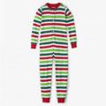 Christmas Stripe Kids' Union Suit