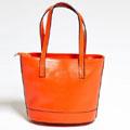 Genuine Leather Mini Shopper Bag