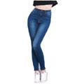 High Waisted Skinny Denim Jeans
