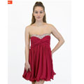 40% Off On Jeweled Dress Red