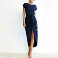 plain-patchwork-belted-dress-clothingric.jpg