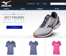 Visit the Mizuno page at Ebates to find a selection of coupons and promo codes you can use to add a discount to your online shopping cart every day. Sign up for the Mizuno MVP rewards club to earn rewards points when you shop and do things like interact .