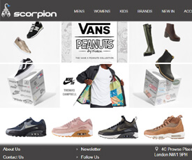 15%Off Clearance For Sitewide From Scorpion Shoes,Claim a fantastic discount on your orders at Scorpion Shoes when you use this discount code and promo code at eastreads.ml to save extra money by redeeming this voucher code at eastreads.ml
