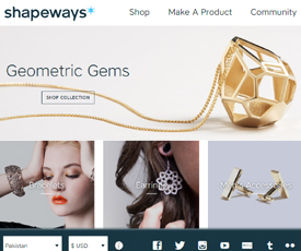 Shapeways coupon code