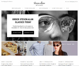 Steven Alan Optical Promo Codes for November, Save with 20 active Steven Alan Optical promo codes, coupons, and free shipping deals. 🔥 Today's Top Deal: Save 25% Off Your Order Plus Free Shipping On Handbags. On average, shoppers save $37 using Steven Alan Optical coupons from exzatorlouds.ga