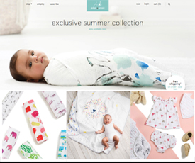 Find cozy, muslin swaddles, sheets and more on Aden & Anais. They have everything your baby needs, keeping it snug, safe and warm during those early months and years. Choose from muslin sets, sleeping bags and swaddles in a variety of sizes, with a selection of cool colors to choose from.