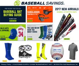 Baseball Savings Coupon & Promo Codes