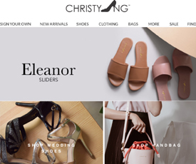 christy ng website