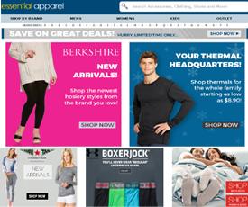 Essential apparel coupon code