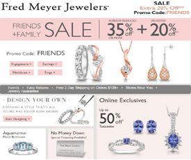 fred meyer jewelry coupons fred meyer jewelers coupon codes get 30 10 4865