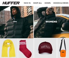 2dd3d9f29 40% Off Promo Code for Huffer & Coupon Codes August 2019   ClothingRIC