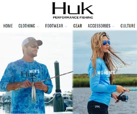 Huk Gear Discount 40% Coupon Codes September, Promotional